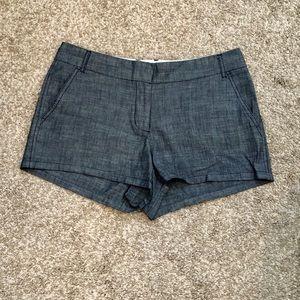 "J. Crew Navy Twill Shorts - 3"" Inseam"